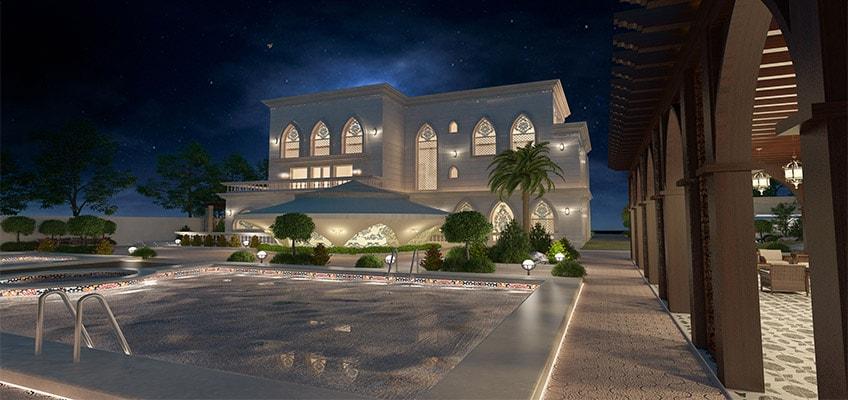 exterior design abu dhabi